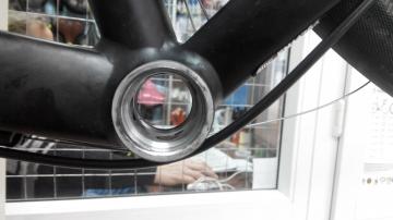 Замена каретки велосипеда