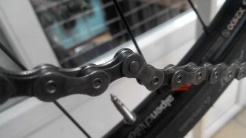 Ремонт погнутой цепи велосипеда