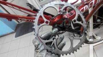 Замена звезд шатунов велосипеда