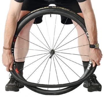 Демонтаж + монтаж покрышки велосипеда