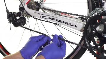Демонтаж/монтаж цепи велосипеда