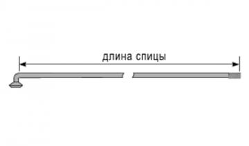 Подбор длины спиц для спицовки колеса