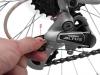 Настройка заднего переключателя скоростей велосипеда