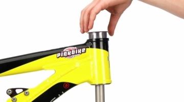 Демонтаж/монтаж чашек рулевой велосипеда