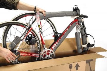 Сборка б/у велосипеда из коробки