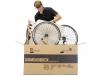 Сборка нового велосипеда из коробки
